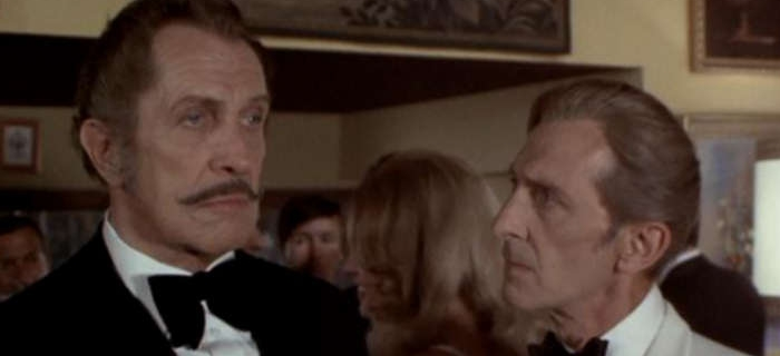Vincent Price e Peter Cushing