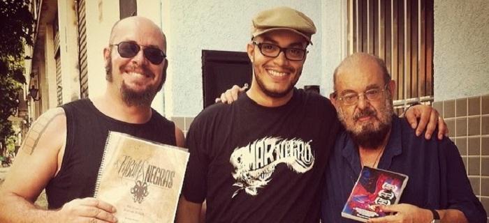 Rodrigo Aragão, Joel Caetano e José Mojica Marins