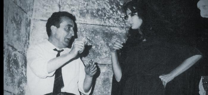Mario Bava e Barbara Steele