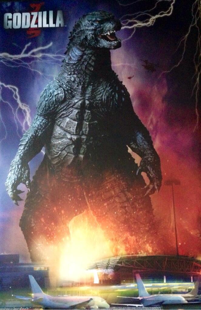 Godzilla em novo pôster de divulgação