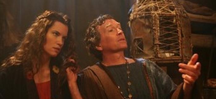Dan Golden como ator ao lado de Frida Farrell em Cyclops