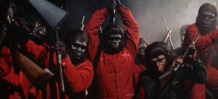 Conquista do Planeta dos Macacos (1972)