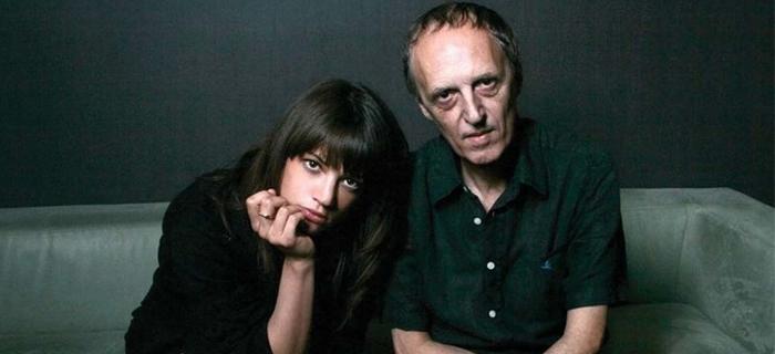 Com a filha Asia Argento!