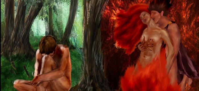 Adão e Lilith!