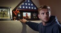 Soldado aterroriza família de amigo falecido em novo filme de Adam Wingard e Simon Barrett.