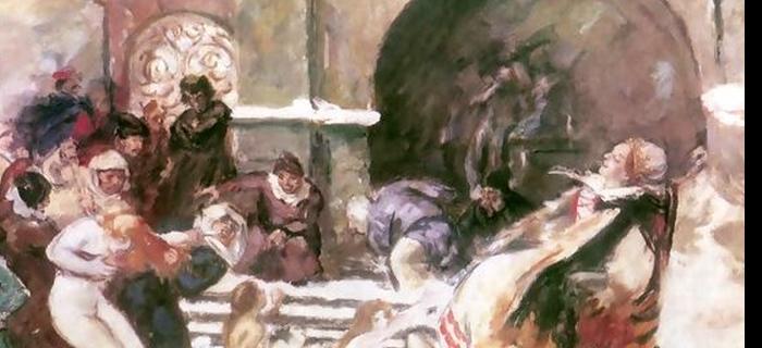 Pintura de St Csok