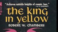"""O clássico """"O Rei de Amarelo"""" que inspirou a série True Detective já está disponível em uma edição especial de fã para fã!"""