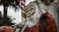 Que tal visitar um parque fantasma, com bonecos natalinos abandonados...no Brasil?