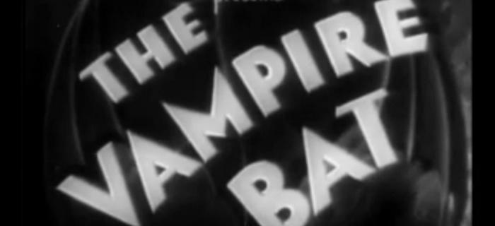 O Morcego Vampiro (1933) (1)