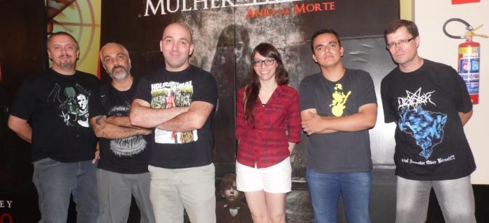 Gangue do Scooby (da esquerda para a direita): Rodrigo Ramos, João Pires Neto, Marcelo Milici, Silvana Perez, Marcus Lamim e Juvenatrix