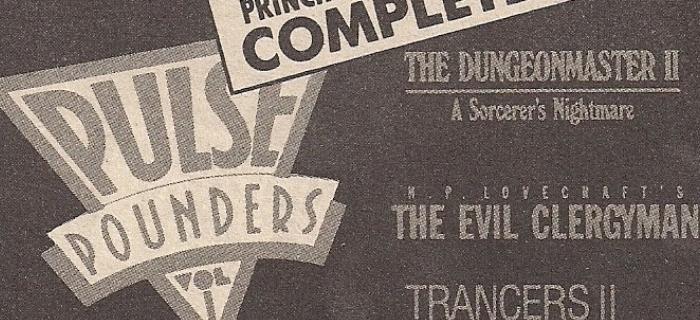 """Anúncio da época destaca fim das filmagens de """"Pulse Pounders"""""""