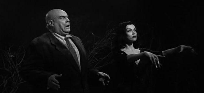 Tor Johnson e Vampira em Plan 9 From Outer Space (1959)