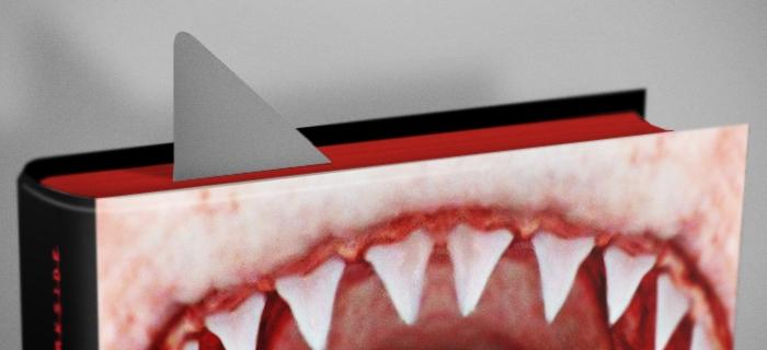 Você sabe que o tubarão está perto demais  quando dá pra ver a barbatana.
