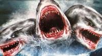Parte da Shark Week do canal Syfy, filme mostra predador marinho de três cabeças