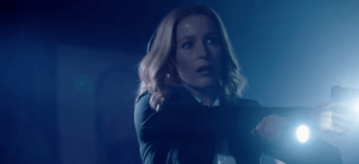 Gillian Anderson volta a viver a agente Dana Scully