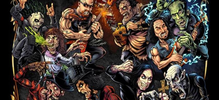 Schiff passou o último ano entrevistando representantes do heavy metal e do horror