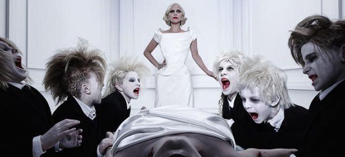 Lady Gaga interpreta a vampira Condessa