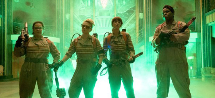 Melissa McCarthy, Kristen Wiig, Kate McKinnon, e Leslie Jones.