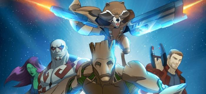 Guardiões da Galáxia animação