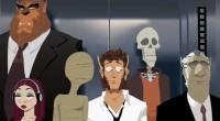 Animação é baseada em trilogia de comics francesa e inspirada em A Noite dos Mortos-Vivos e The Office