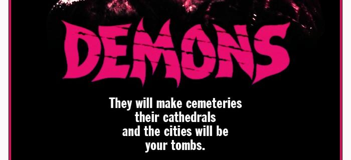 Demons é um clássico do cinema gore Italiano
