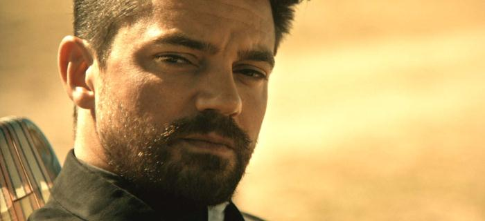 Dominic Cooper vive o padre Jesse Custer na série