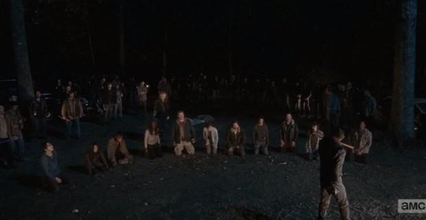 A AMC divulgou pôsteres individuais dos personagens que estão na mira do vilão Negan