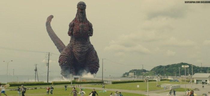 Infográfico mostra a altura do monstro de Godzilla Resurgence