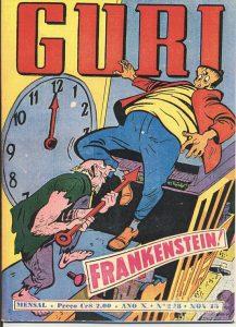 Capa de O Guri #228 (Fonte: Guia dos Quadrinhos)