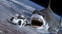 Tubarões flutuando no espaço? Um bebê nascendo da carcaça de um? Tudo é possível quando o filme é mais uma loucura da franquia Sharknado!
