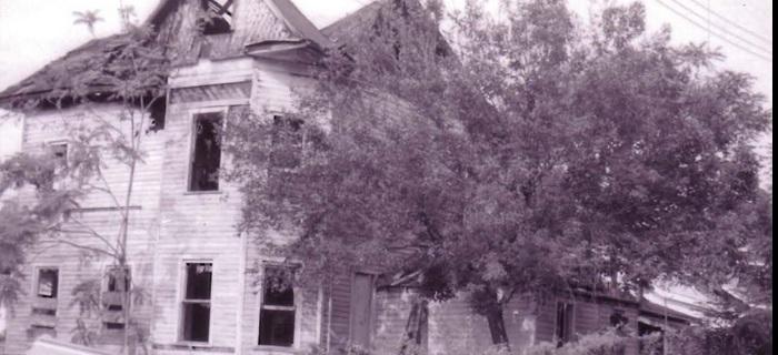 Casa onde teria vivido o menino possuído!