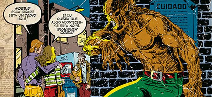 O Lobisomem é o mais novo encadernado da Coleção Marvel Terror.
