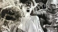 O artista, que ficou famoso por emprestar seu traço realista a super-heróis da Marvel e DC, agora mostra todo o seu inigualável talento retratando monstros clássicos como Drácula, Frankenstein e a Múmia.