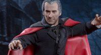 """Famoso por suas figuras riquíssimas em detalhes, o estúdio Sideshow Collectibles acaba de anunciar o lançamento de """"The Scars of Dracula"""", baseado no Drácula de Cristopher Lee."""