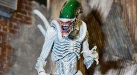 Híbrido entre Alien e Coringa é destaque em nova série de colecionáveis da NECA.