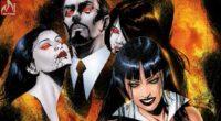 Álbum reúne histórias da sexy vampira escritas por Grant Morrison e Mark Millar