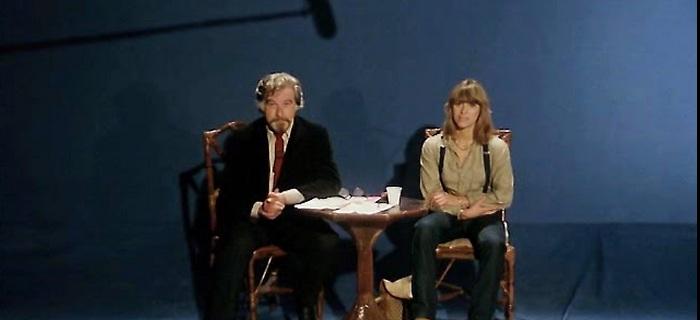 La spelologa intervistata in TV