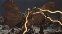 O monstro de três cabeças vai aparecer junto com Rodan e Mothra, rivais clássicos de Godzilla