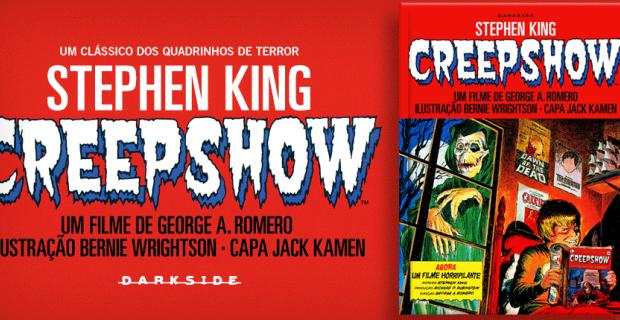 Nova publicação da linha DarkSide Graphic Novel foi a primeira HQ escrita por King