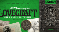 Editora lança Medo Clássico, coletânea de contos e novelas, e O Fantástico Alfabeto Lovecraft, sua primeira publicação infantil