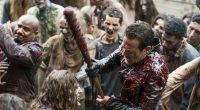 Com mais cenas de ação do que boa parte da série inteira, The Walking Dead ainda precisa se organizar em seu enredo cheio de subtramas desnecessárias e personagens perdidos
