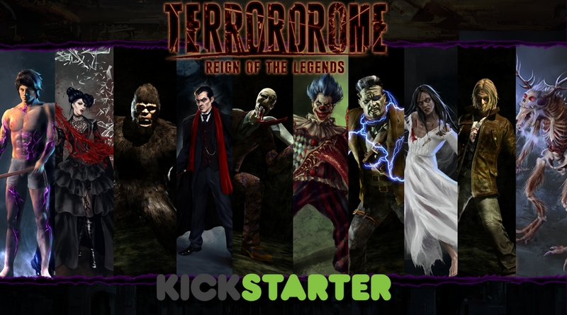TerrorDrome - novo game de luta envolvendo ícones do horror